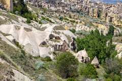 Cappadocia gołębia dolina Fotografia Stock