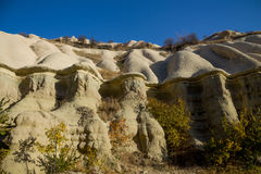 Cappadocia grottor, Turkiet Arkivbilder