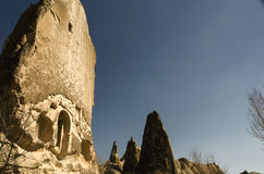 Cappadocia half house Royalty Free Stock Photo