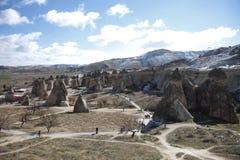 Cappadocia Fairy Chimney Landscape, Travel Turkey Royalty Free Stock Photo