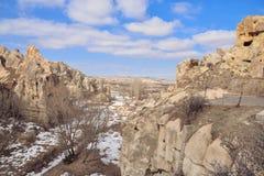 Beautiful landscape in Cappadocia Royalty Free Stock Photo