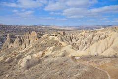 Beautiful landscape in Cappadocia Stock Images