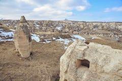 Beautiful landscape in Cappadocia Stock Photography