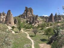 Cappadocia. History in cappadocia stock photos