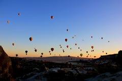 Free Cappadocia Hot Air Balloons In The Morning Sky Royalty Free Stock Photos - 160733738