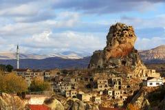Cappadocia i rockowe formacje Fotografia Royalty Free