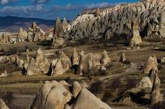 Cappadocia i Turkiet Royaltyfria Bilder