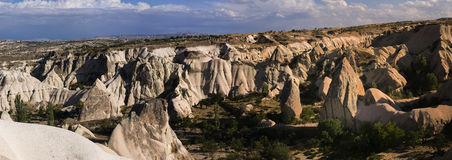 Cappadocia - Kapadokya, Turkey panorama Royalty Free Stock Photo