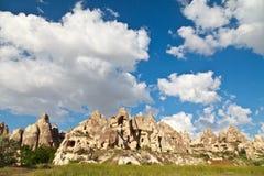 cappadocia kominów czarodziejki indyk Obrazy Royalty Free