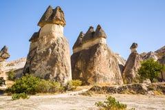 cappadocia kominów wróżki indyk zdjęcie royalty free