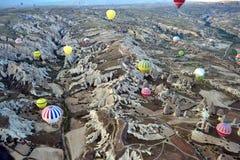 Cappadocia krajobraz Zdjęcia Royalty Free