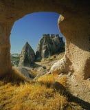 Cappadocia - la Turchia Fotografie Stock Libere da Diritti