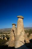 Cappadocia - la Turchia, camini leggiadramente Fotografia Stock