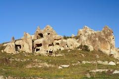 Cappadocia - la Turchia, camini leggiadramente Immagini Stock