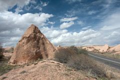 Cappadocia landscape Royalty Free Stock Images