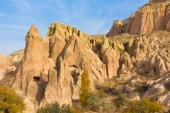 Cappadocia landscape in autumn Royalty Free Stock Image