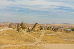 Cappadocia landscape in autumn Royalty Free Stock Photography