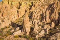 Cappadocia landscape in autumn Royalty Free Stock Photo