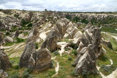 Cappadocia landscape Stock Photography