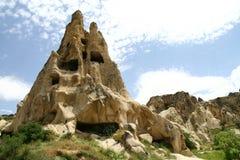 Cappadocia landscape. Landscape in Cappadocia in Turkey stock photography