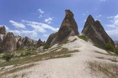 Cappadocia landscape, Turkey Stock Image