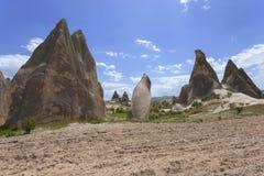 Cappadocia landscape, Turkey Stock Photos