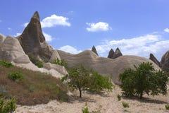 Cappadocia landscape, Turkey Stock Images