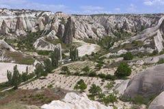 Cappadocia landscape, Turkey Royalty Free Stock Images