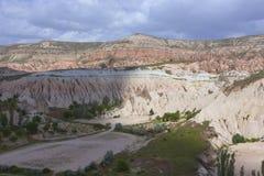 Cappadocia landscape, Turkey Stock Photo