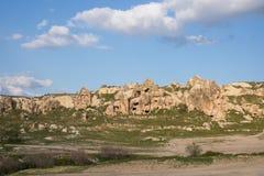 Cappadocia. Landscape view from Cappadocia, Turkey Royalty Free Stock Image