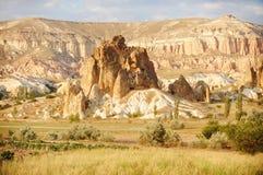 Cappadocia landscape Royalty Free Stock Photography