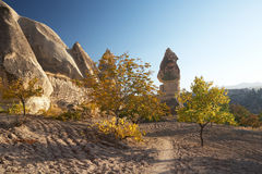Cappadocia Landschaft lizenzfreie stockfotografie