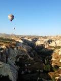 Cappadocia-Landschaft-bullon Stockbild