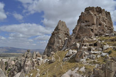 Cappadocia landskap Arkivfoto