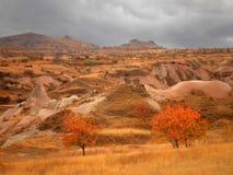 Cappadocia landskap Arkivfoton