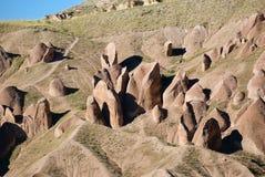 Cappadocia landskap, Turkiet Arkivbild