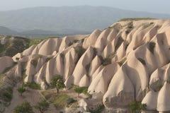 Cappadocia landskap, Turkiet Royaltyfria Bilder