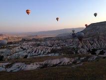 Cappadocia landskapbullon Arkivfoto
