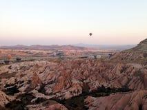 Cappadocia landskapbullon Royaltyfri Fotografi