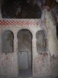 Cappadocia. Chiesa antica della caverna Immagine Stock Libera da Diritti