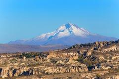 Cappadocia liggande Arkivbilder