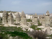 Cappadocia love valley Royalty Free Stock Photos