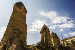 Cappadocia Love Valley chimneys Royalty Free Stock Image