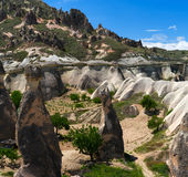 Cappadocia mountain landscape Stock Photos