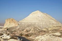 Cappadocia Mountains. The low mountains near the town of Avanos in Cappadocia at sunny autumn day Stock Images