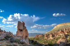 Cappadocia from Nevsehir. In Turkey Royalty Free Stock Images