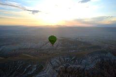 Cappadocia od powietrza Fotografia Royalty Free