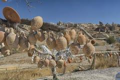 Cappadocia, pot, Turkije, reis, landschap, aard, toerisme, vallei, royalty-vrije stock foto