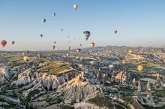 Cappadocia region ,Goreme,  Turkey Stock Photos