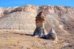Cappadocia. Result of erosion Royalty Free Stock Photos